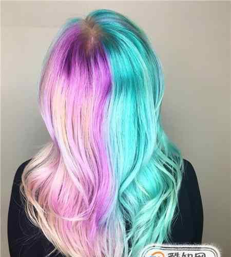 头发染色 好看的染色头发图片